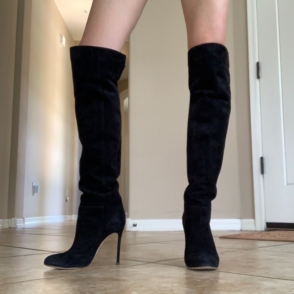 Gianvito Rossi Over The Knee Boots Size